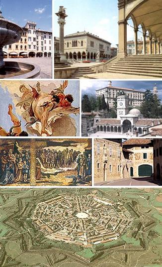 fb4286b320 ... tutto un susseguirsi di edifici rurali e ville padronali in pietra, con  balconi, androni e corti interne / TRICESIMO (castello, Santuario mariano,  borgo ...